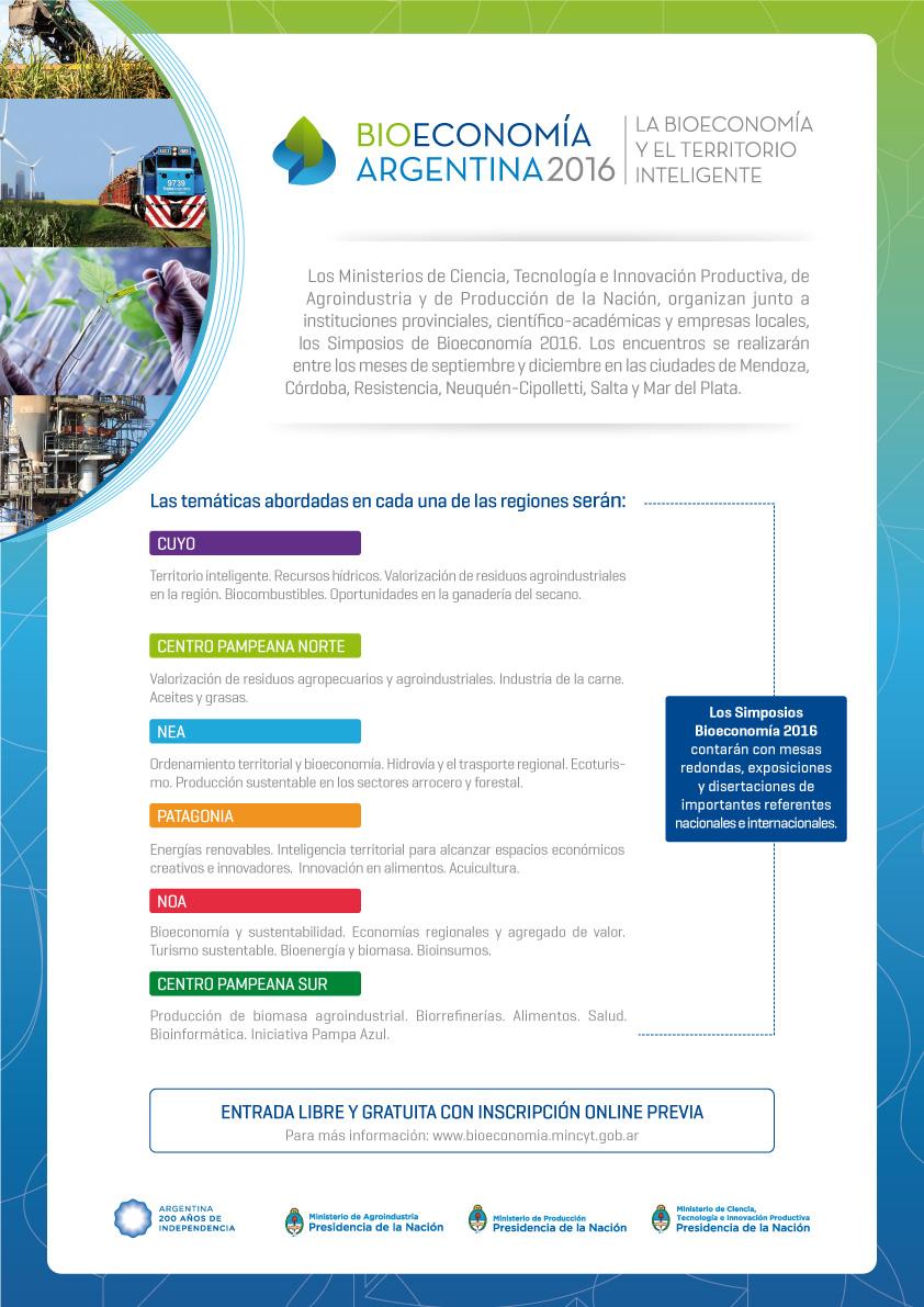 Bioeconomía Argentina 2015